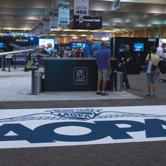AOPA booth